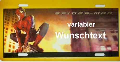 Funschild Spiderman