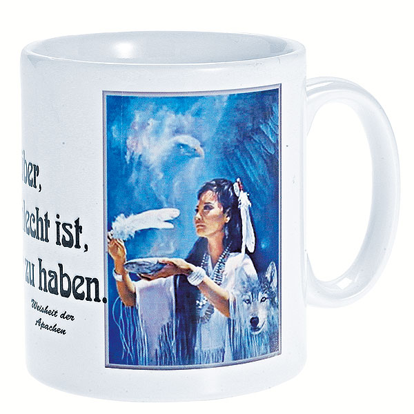 Tasse White-Feather